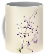 Purple Droplets Coffee Mug