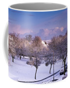 Purple February Coffee Mug