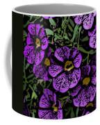 Purple Floral Fantasy Coffee Mug