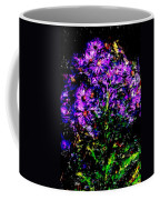Purple Flower Still Life Coffee Mug