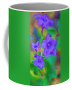 Purple Flowers 102310 Coffee Mug