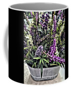 Purple Flowers In Bloom Coffee Mug