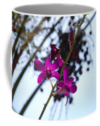 Purple Flowers In The Sky Coffee Mug