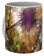 Purple Fuzzy Coffee Mug