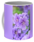 Purple Geranium Coffee Mug