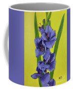 Purple Gladiolas Coffee Mug