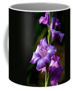 Purple Glads Coffee Mug
