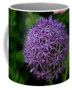 Purple Globe Thistle Coffee Mug