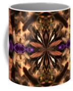 Purple Heart Design Coffee Mug