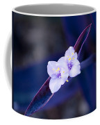 Purple Heart Flowers Coffee Mug