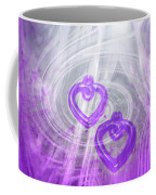 Purple Hearts Coffee Mug