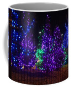 Purple Holiday Lights Coffee Mug