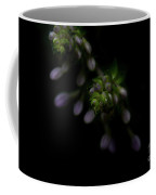 Purple Hosta Budding Duo - Macro Coffee Mug