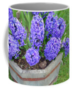 Purple Hyacinth Flowers Planter Coffee Mug