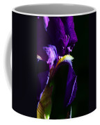 Purple Iris 2 Coffee Mug