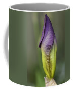 Purple Iris Bud Coffee Mug
