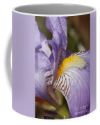 Purple Iris Closeup Coffee Mug