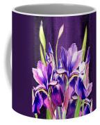 Purple Iris Dance  Coffee Mug