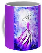 Purple Lady Charm Coffee Mug