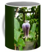 Purple Leather Flower Coffee Mug