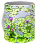 Purple Lotus Flower  Coffee Mug