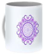 Purple Lotus Mandala Coffee Mug