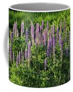 Purple Lupines In Summer Coffee Mug