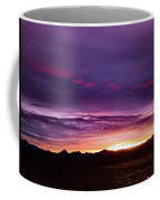 Purple Majesty Sunset Coffee Mug