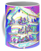 Purple Martin Bird House Coffee Mug