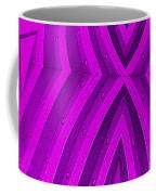 Purple Maze Coffee Mug