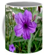 Purple Mexican Petunia Coffee Mug