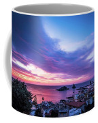 Purple Morning Coffee Mug
