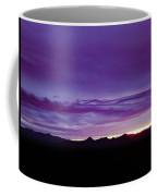 Purple Mountain Sunset Coffee Mug