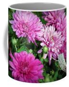 Purple Mums Coffee Mug