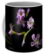 Purple On Black Coffee Mug