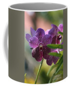 Purple Orchid Beauty Coffee Mug