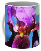 Purple Petals Four  Coffee Mug