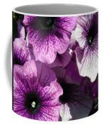 Purple Petunia Paradise Coffee Mug