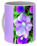 Purple Petunias 2 Coffee Mug