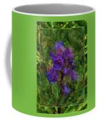 Purple Png Flower Coffee Mug