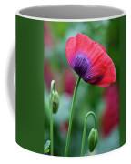 Purple Poppy Flower Coffee Mug