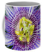 Purple Radial Coffee Mug