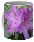 Purple Rhododendron Coffee Mug