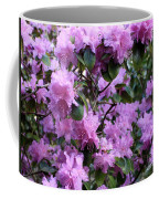 Purple Rhododendrons Coffee Mug