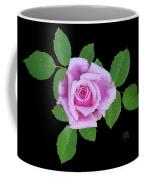 Purple Rosebud2 Cutout Coffee Mug