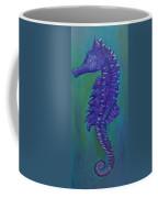 Purple Seahorse Coffee Mug