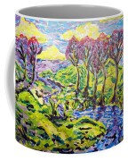 Purple Skies Seven Coffee Mug