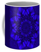 Purple Spiritual Coffee Mug by Lucia Sirna