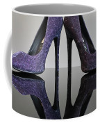 Purple Stiletto Shoes Coffee Mug