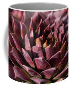 Purple Succulent Coffee Mug